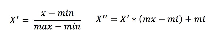 归一化公式