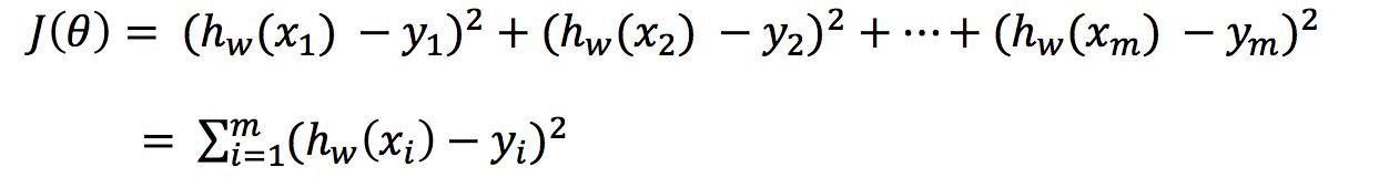 线性回归损失函数