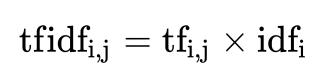 tfidf公式